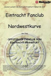 Urkunde EFC